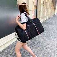 Duffel Bags Casual Nylon Travel Fitness Zipper Letter Big Bag Duffle Women Luggage Packing Cubes Hand