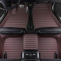 Auto-Fußbodenmatte für BMW X5 E53 E70 F15 F85 X6 X7 X1 E84 F48 X2 F39 X3 E83 F25 Künstliches Leder
