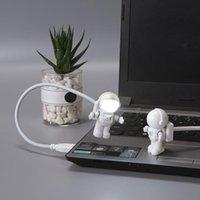 Night Lights Lovely Astronaut Light Reading Children's Gift LED Spaceman USB Computer Desk Lamp