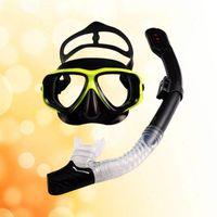 Diving Masks Fully Dry Breathing Tube Snorkeling Suit Equipment Mask
