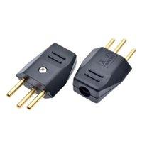 Smart Power Plugs Black Universal Detachable Wiring Adaptor Plug EU Swiss Standard 3 Pins Industrial Machine Cord Male Socket 250v 10A