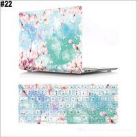 Корпус ноутбука для MacBook Air 13-дюймовый чехол с крышкой клавиатуры 3D эффект матовый новейший вид с жесткой крышкой различные образцы образцов