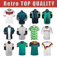 Германия 90 14 88 94 98 Кубок мира Ретро Футбол Джерси # 5 Hummummels # 20 Bohateng # 19gotze Home Oled 2014 Винтажная футболка
