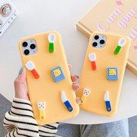 Cute 3D Color Color Color Kitchenware Funda telefónica para iPhone 11por MAX SE 2020 XS MAX XR X 7 8 PLUS HERJA DE LA HERRAMIENTA CUBIERTA DE LA CUBIERTA SOFT