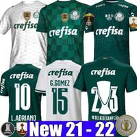 21 22 Camisas Palmeiras Soccer Jersey G.Gomez G.veron L.Adriano Ramires Dudu 2021 2022 Libertadores نهائيات الرجال النساء أطفال كيت كرة القدم قميص