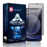 Privacy Tempered Glass Screen Protector Anti-Spy Real Protective Scratch Film Guard For iPhone 12 Mini 11 Pro Max XS XR X 8 7 6 6S Plus SE With Package Box