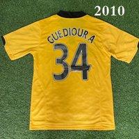 Üst 2010/11 Wolverhamptons Retro Futbol Formaları Guedioura 34 Berra 16 Foley 32 Futbol Gömlek Klasik 2011 Ev Ayak Gömlek Maillot de Futbol Jersey Boyutu S-XXL LANGDUI