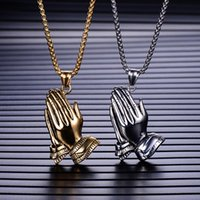 Pendant Necklaces 2021 Products Fashion Prayer Necklace Bergamot Men Ins Trend Personality Accessories Wild Jewelry Wholesale