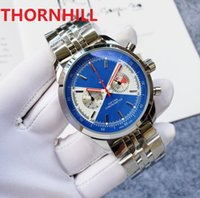 orologio u1 factory full functional mens watches 45mm Luxury Quartz 316L Stainless Steel Business Fashion High Strength Glass Men Wristwatches