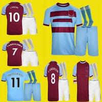 LASTE20 21 Lingard West Fussball Jersey 2020 2021 United Lanzini Noble Football Hemd Männer + Kinder Socke Kit 125 Jahre 125. Jubiläum