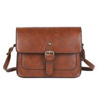 Çantalar Omuz Çantası Crossbody Jiamen Vintage Kadınlar Flap Moda Rahat Deri Bayan Messenger Zarif Zarf Debriyaj Çanta