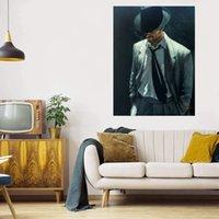남자 캔버스에 흰색 정장 IV 큰 유화 홈 장식 수공예품 / HD 인쇄 벽 아트 그림 맞춤 설정 가능 21071405