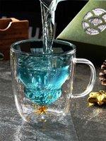Sevimli Noel Ağacı Kupa Çift Duvar Cam Kahve Bardakları Silokon Kapağı ile Kar Tanesi Yıldız Noel Hediye Şarap Çay Süt Su Tumbler DDA5938