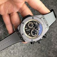 1-5men Relógio Analógico 40mm Movimento de Quartzo Data Calendário All Discagem de Couro Cinta Orologio Uomo Luxo Montre de Luxe Designer Relógios