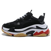 Balenciaga Triple-S shoes Running shoes Luxury Brand ر مصمم أحذية أعلى منخفض حذاء رياضة الثلاثي S الرجال وأحذية نسائية عادية الحجم 36-45