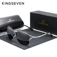 Kingseven Retro para mujer gafas de sol polarizadas de lujo de lujo diseñador de la marca de la lente de gradiente gafas de sol gafas para mujeres mujer Y200619