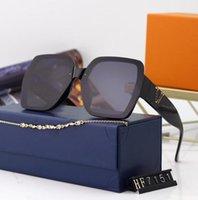 2021 verão moda óculos de sol homens mulheres quadro de luz 5 cor seleção de cor grande óculos de sol presente