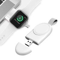 시계를위한 휴대용 무선 충전기 SE 6 5 4 충전 도크 스테이션 USB 충전기 케이블 시계 시리즈 6 5 4 3 2 1