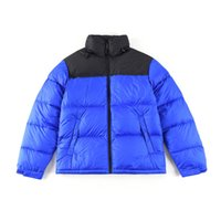 New Mens Stylist Casaco Parka Inverno Down Jacket Casal De Moda Casal Digite Homens Quentes e Mulheres Curto Tamanho Curto M-2XL