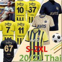 Fenerbahce SK 2020 2021 Futbol Jersey Home Third 20/21 Thiam Pelkas Mesut Öz Il Ozan Tufan Perotti Samatta Soccer Jerseys Origs