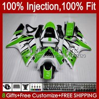 Kawasaki Ninja ZX-6R ZX-636 ZX-6R 600 CC 6 R ZX636 03-04 Bodywork 8no.0 zx 636 600cc zx6r 03 04 ZX600C ZX600 2003 2004 OEM Bodys 공장 녹색