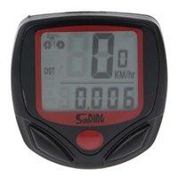 LCD Dijital Bisiklet Bilgisayar Bisikleti Kronometre Su Geçirmez 14 Fonksiyonları Kilometre Kilometre Sayacı Fabrika Kaynağı SD548B