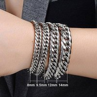 Link, Chain Cuban Link Bracelet On Hand Wholesale Stainless Steel Polishing Mens Gifts For Male Accessories Men\x27s