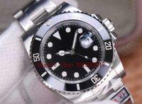 waterproof ZZF Factory Mens WatchV3 No Date 904L SS SS ZZF ETA 3135 Uni-directional Diver Ceramic Bezel Mechanical Watches hot
