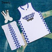 2020 College Basketball Jerseys Personnaliser Jeunesse Basketball Uniforme Team Club en gros costume de sport Shirt Nom Nom Logo Imprimer