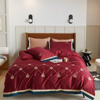 NEUE 1000TC Ägyptische Baumwolle Bettdecke Bettwäsche Set Königin King-Size Flach / Anpassungsblatt Leinen Set Kissenbezug 4pcs Bett