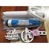 Ücretsiz kargo 75gpd vontron ro membrane +1812 ro membran muhafazası + ters osmoz su filtresi sistemi parçaları ro sistemi akvaryum Y200917