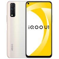 "Original vivo IQOO U1 4G LTE Mobiltelefon 6 GB 8 GB RAM 128GB ROM Snapdragon 720g Octa Core Android 6.53 ""Vollbild 48.0mp 4500mAh Fingerabdruck-ID Gesichtswege Smart-Handy"