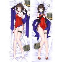 Yastık Kılıfı Savaş Gemisi Kızlar R Lexington Dakimakura Kapak Anime Battleship Senkan Shoujo Rodney Haruna Uzun Vücut