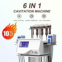 6 in 1 lipo laser Slimming Machine 40K ultrasounic cavitation vacuum RF beauty device for spa