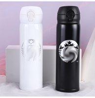 어머니 날 선물 뜨거운 판매 starbucks 흰색 진공 단열 컵 커플 편리한 절연 컵 비즈니스 선물 컵 Wechat 배수