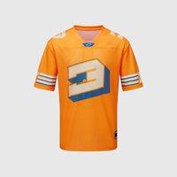 La nouvelle F1 Polo Norris, Ricardo Racing Costume, Logo Formula One, T-shirt à col rond rapide, costume de moto, de grande taille peut être personnalisé