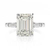 Oevas عرس الفرقة 7ct انشاء مويسانيت خاتم الخطوبة الماس الصلبة 925 فضة الجميلة مجوهرات السيدات الذكرى هدية