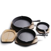 Pans Picnic Cast Iron Pot Cookware Mini Small Frying Pan Shaped Egg Mold Breakfast Pots For Kitchen Cooking Tool Barbecue