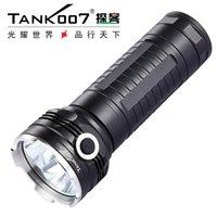 TANK007 RC11 CREE-XM-L-U2 2000 LUMEN 5 MODOS LED recargable de alta potencia para búsqueda al aire libre por 3 * 18650 Batería