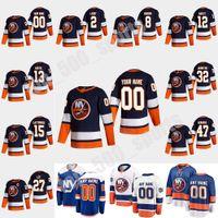 New York Islanders 2021 Reverse Retro Hóquei Jersey 13 Mathew Barzal Jersey Anders Lee Matt Martin Josh Bailey Cal Clutterbuck Personalizado