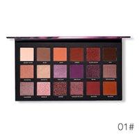 18 colors customized logo high quality eyeshadow palette vendor