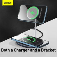 Baseus Magnetic Wireless Charger, suitable for iPhone 12 Pro Max Xiaomi Samsung AirPods charger desktop wireless charger