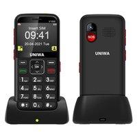 USA Europ 4g 3G Mini-Handys Bluetooth-Dialer MP3 MP3-FM-Kamera SOS-Fackel 1800mAh Big Voice Characs Base Senior Mobiltelefon Dual Sim Small Handy WCDMA Telefon
