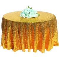 Таблица ткани блестки Nordic скатерть круглая обеденная крышка для украшения свадьбы рождественские банкетные вечеринки