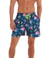 Troncos de natação dos homens Quick Seco Beach Shorts com bolsos Superior Moda Board Shorts Homens Impresso Praia Natação Mens Gym Calças curtas 11