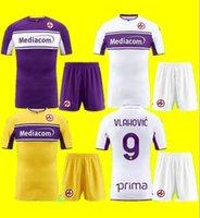 Yetişkin + Çocuk Kiti 2021 Fiorentina Futbol Formaları Yakuda Yerel Çevrimiçi Mağaza Dropshipping Kabul Edildi Castrovilli 10 Vlahovic 9 C.Kouame 11 Futbol Gömlek Jersey