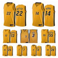 2020-21 مياميحرارةالرجال جيمي بتلر تايلر هيرو بام أديبايو حصل الطبعة الأصفر سوينغمان كرة السلة جيرسي