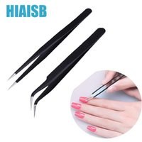Japanese Nail Tweezers Art Decoration Rhinestone Tools Bend&Straight Nails Accessories For Maincure Curved Tip Nippers