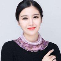 Gerçek Boyunband kadın prezervatif 100% dut küçük ipek Kore versiyonu ekleme eşarp yanlış yaka güneş koruma dekoratif
