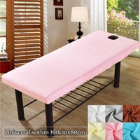 Sheets & Sets Universal Soft Elastic Fitted Bed Cover Beauty Salon Massage Sheet Body SPA Treatment Relaxation Bedsheet With Face Breath Hol